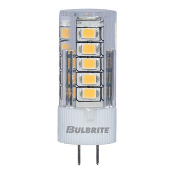 3W JC 12V 2-Pin G4 Sub-Miniature Base Clear Finish 3000K Specialty LED Miniature Light Bulb