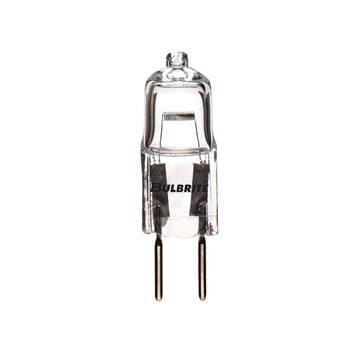 20W Halogen Clear Bi-Pin GY6.35 T4 Tubular Bulb