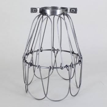 Unfinished Steel Bulb Cage