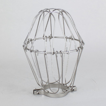 Nickel Plated Bulb Cage
