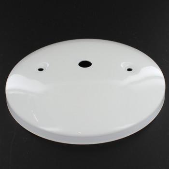 2-3/4in. Bar Holes - Modern Canopy - White Gloss