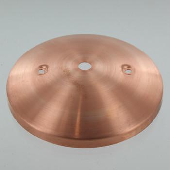 2-3/4in Bar Holes - Modern Canopy - Copper