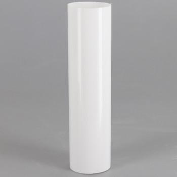 3-1/2in. Long Soft Plastic E-12 Base Candle Socket Cover - Candelabra - White