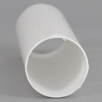 3in. Long Soft Plastic E-12 Base Candle Socket Cover - Candelabra - White