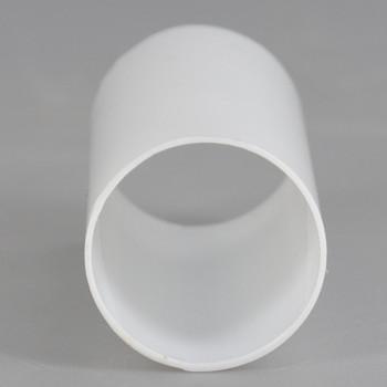 2in. Long Soft Plastic E-12 Base Candle Socket Cover - Candelabra - White