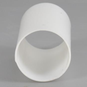 1-1/2in. Long Soft Plastic E-12 Base Candle Socket Cover - Candelabra - White