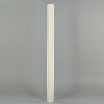 12in. Long Soft Plastic E-12 Base Candle Socket Cover - Candelabra - Cream