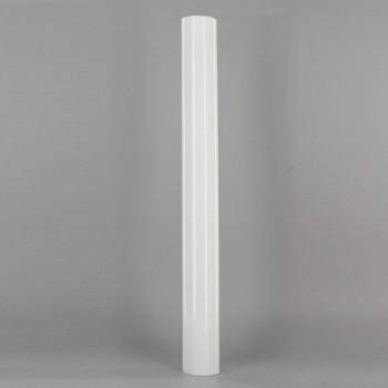 12in. Long Soft Plastic E-26 Base Candle Socket Cover - Edison - White
