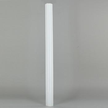 12in. Long Soft Plastic E-12 Base Candle Socket Cover - Candelabra - White