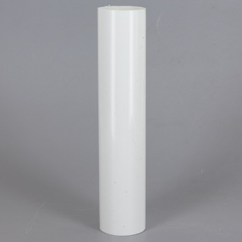10in. Long Soft Plastic E-26 Base Candle Socket Cover - Edison - White