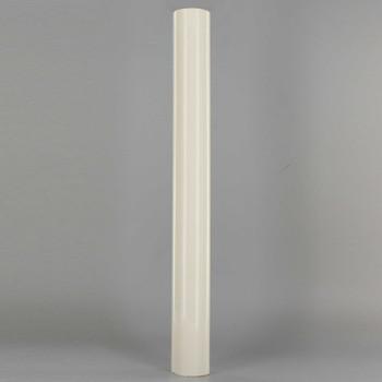 12in. Long Soft Plastic E-26 Base Candle Socket Cover - Edison - Cream Color