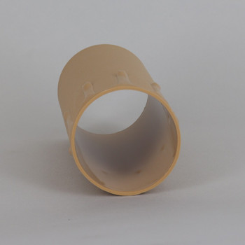 42mm OD X 85mm Height Antique Old Ivory Drip Candle Cover Sleeve for use with SO7175 series E26 and E27 Lamp Holder Sockets.