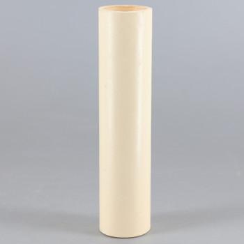 4in. Paper/Fiber E-12 Candelabra Base Candle Socket Cover - Ivory