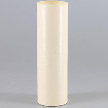 3in. Paper/Fiber E-12 Candelabra Base Candle Socket Cover - Ivory