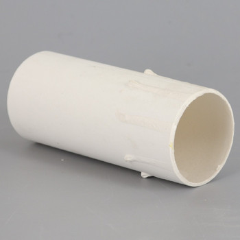 3in. Paper E-26 Base Candle Socket Cover - Edison - White Drip
