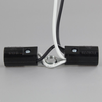 Twin E-12 Base Phenolic Cluster with 8in. Leads