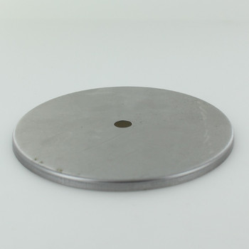 5 In. Diameter Stamped Brass Straight Edge Checkring - Unfinished Steel