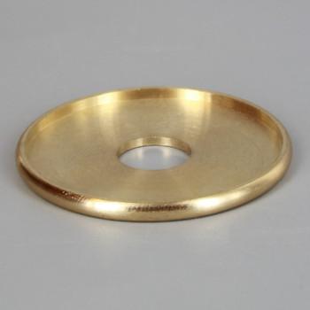 1-3/4in. x 1/8ips slip Turned Brass Check Ring