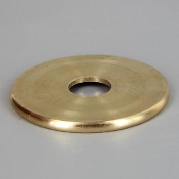 1-1/8in. x 1/8ips slip Turned Brass Check Ring