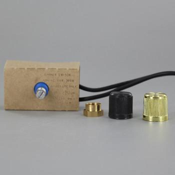 300 Watt Removeable Knob Rotary Base Dimmer
