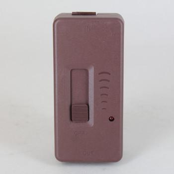 Slide Tabletop Snap-On Full Range Cord Dimmer - SPT-2 Wire - Brown