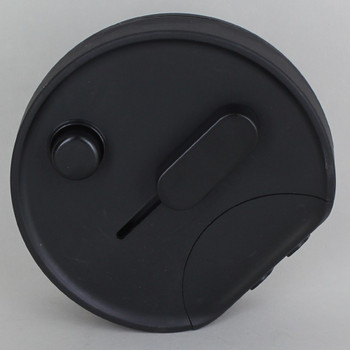 In-Line Universal Push Button Table/Floor Dimmer - Black