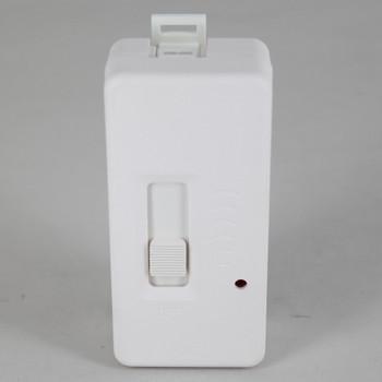 Slide Tabletop Snap-On Full Range Cord Dimmer - SPT-2 Wire - White