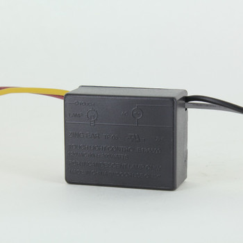 300W Max On-Off Touch Light Control Indoor Use Only. UL Recognized.