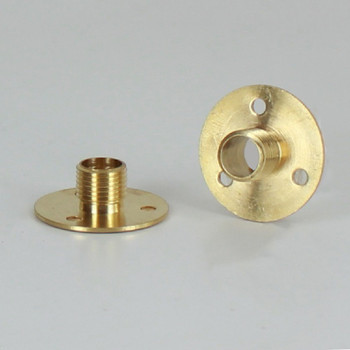 1/8ips Male Threaded Unfinished Brass Flange