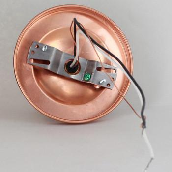 2-1/4 in. Holder Copper Flush Fixture