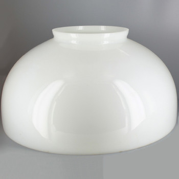 Opal Dome Glass Shade with 6in. Neck