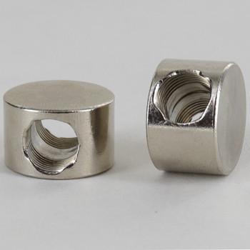 2 - 1/8ips Side Holes Flat Splitter Disc Armback - Nickel Plated