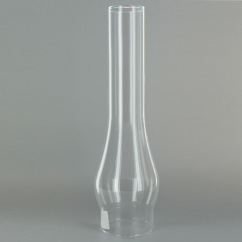 12in. Tall Clear Chimney with 3in. Neck