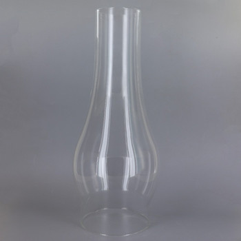 12in. Tall Clear Chimney with 4in. Neck