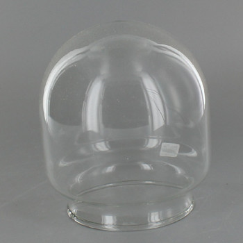 3-3/4in. Clear Round Bottom Cylinder Tube with 3in. Neck
