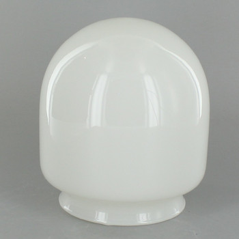 3-3/4in. Opal Round Bottom Cylinder Tube with 3in. Neck