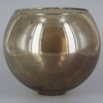 5in. Smoked Glass Open Ball with 1in. Hole