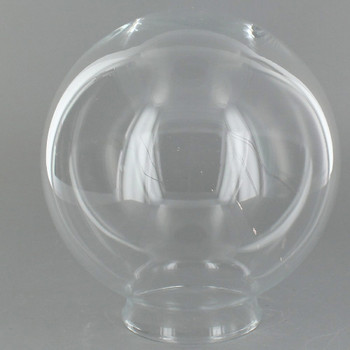 5in. Clear Glass Ball with 2-1/4in. Neck