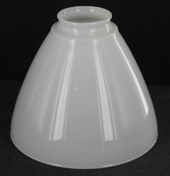 6in. Top Hand Blown IES Opal Glass Shade with 2-1/4in. Neck