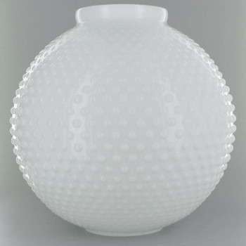 10in. Opal Open Ball with Hobnail Design and 4in. Neck