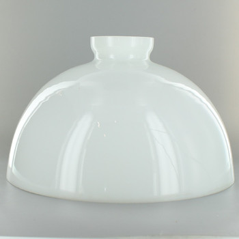 10in. Top Hand Blown IES Opal Glass Shade with 2-7/8in. Neck - USA