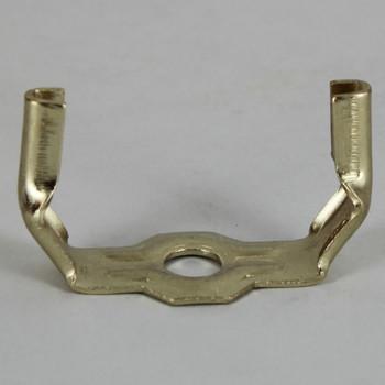 Brass Plated Heavy Duty Harp Bottom - 1/8ips.
