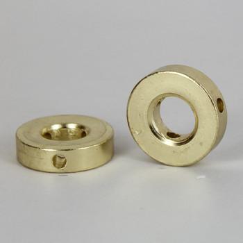 Brass Plated 3 Hole 10 Gauge Shade Spider Washer