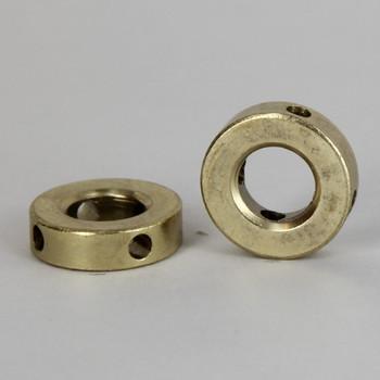 Brass Plated 4 Hole 11 Gauge Shade Spider Washer