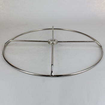 11 inch Diameter #10 Steel Wire Shade Ring - Nickel