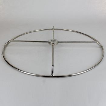 16 inch Diameter #10 Steel Wire Shade Ring - Nickel