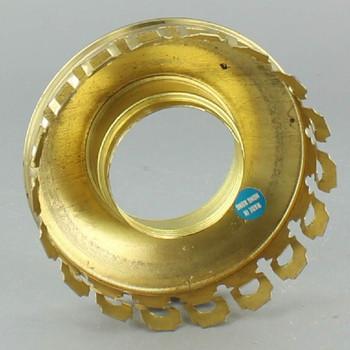 2-5/8in. Unfinished Brass Uno Chimney Holder
