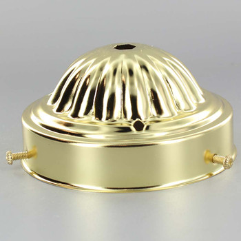 4in. Brass Plated Finish Holder
