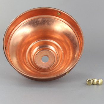 4in. Unfinished Copper Deep Holder