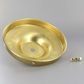 5in. Unfinished Brass Flat Holder